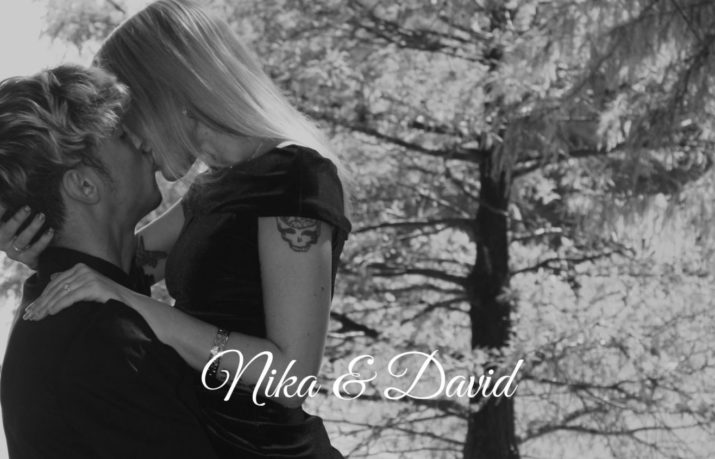 Nika and David Wedding Announcement